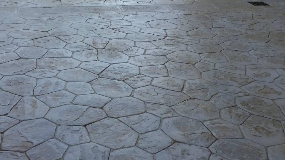 Pavimento Calcestruzzo Stampato : Cemento stampato pavimenti esterni