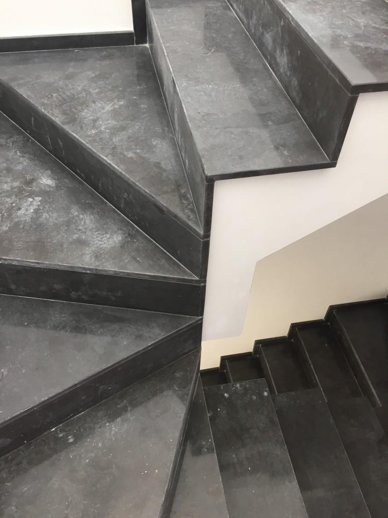 Great scala grigio fossena with scale interne in pietra - Scale interne pietra ...