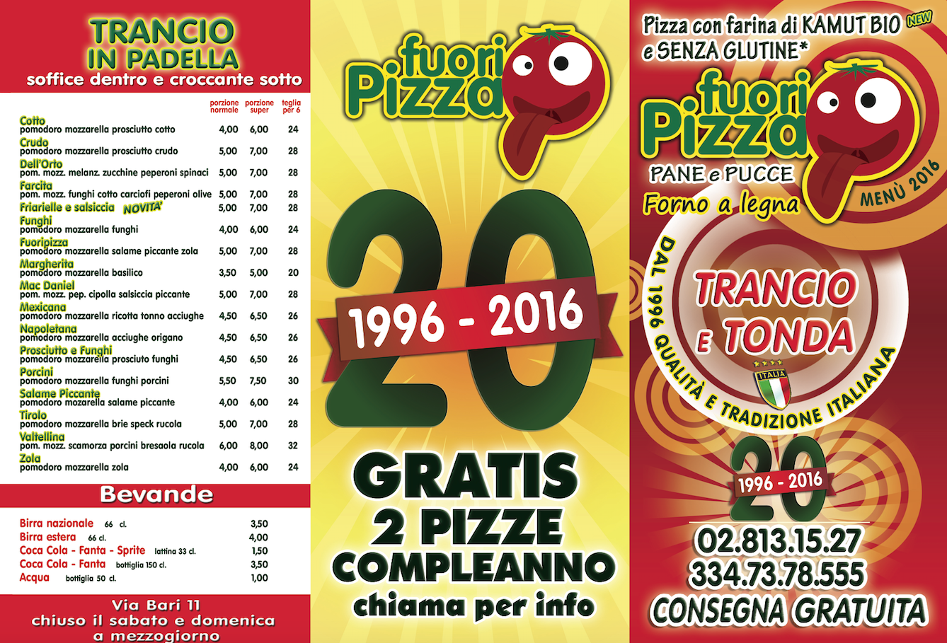 menu pizze 1