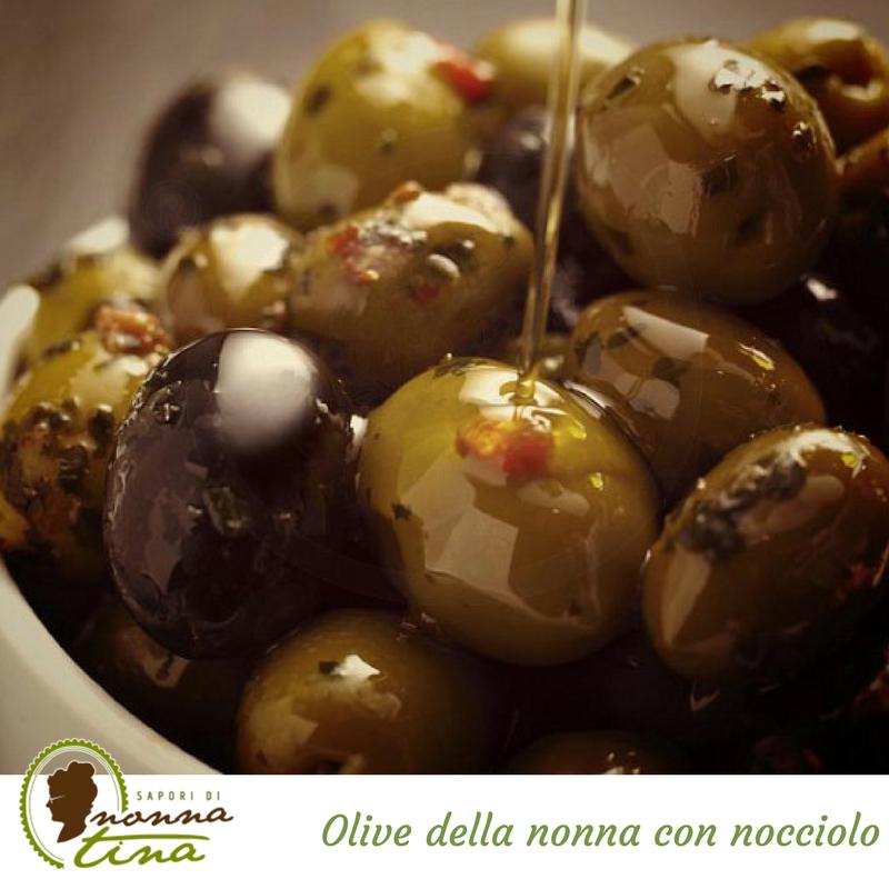Olive della nonna con nocciolo