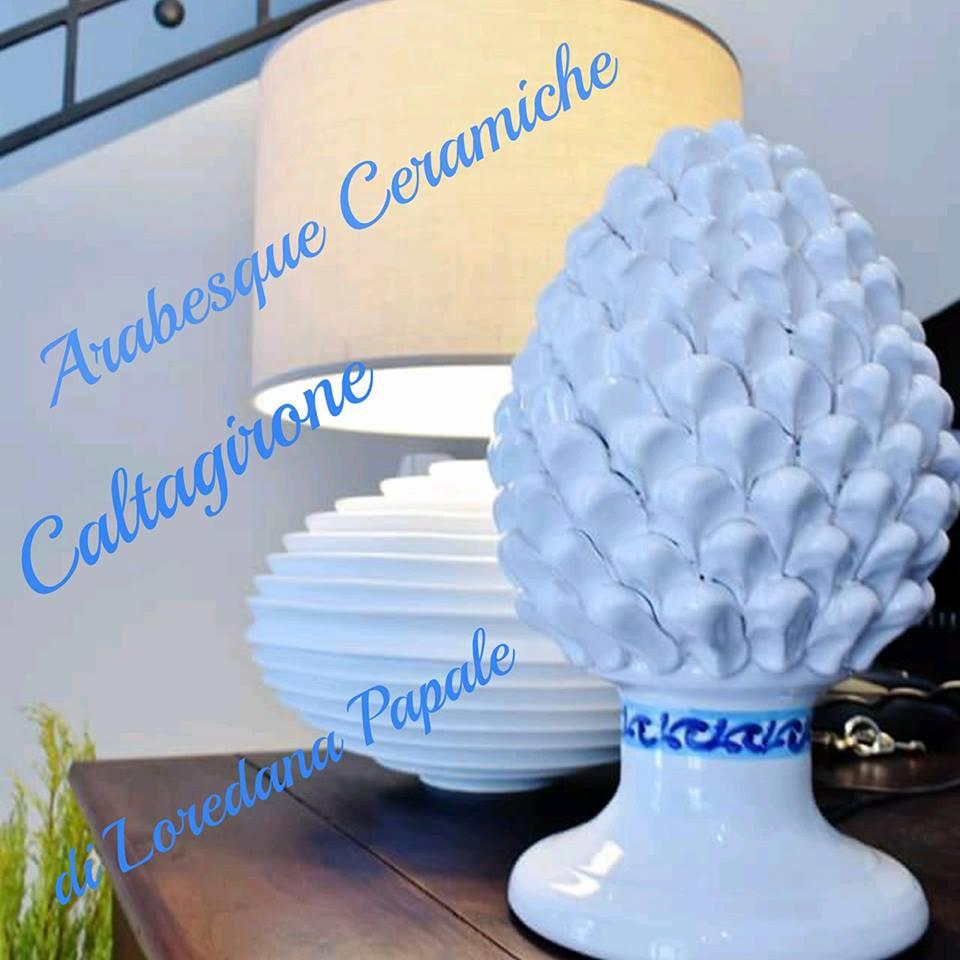 """""""Pigne di Caltagirone"""" in Ceramica di Caltagirone € 16,00"""